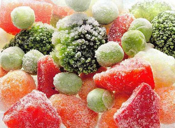 Какие овощи замораживать на зиму