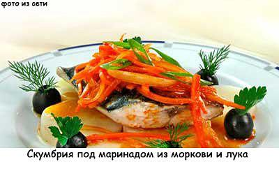 Маринад для рыбы из моркови и лука