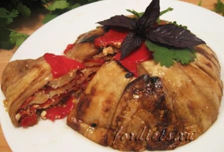 Закуска из баклажан на праздничный стол — готовим террин