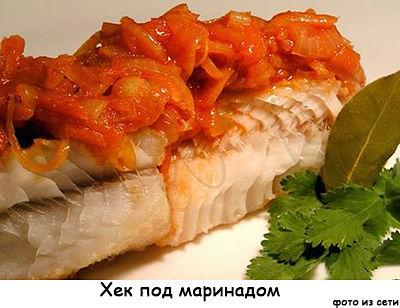 Маринад для рыбы под маринадом