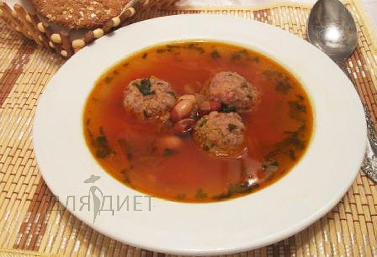 Как варить диетический суп с фрикадельками