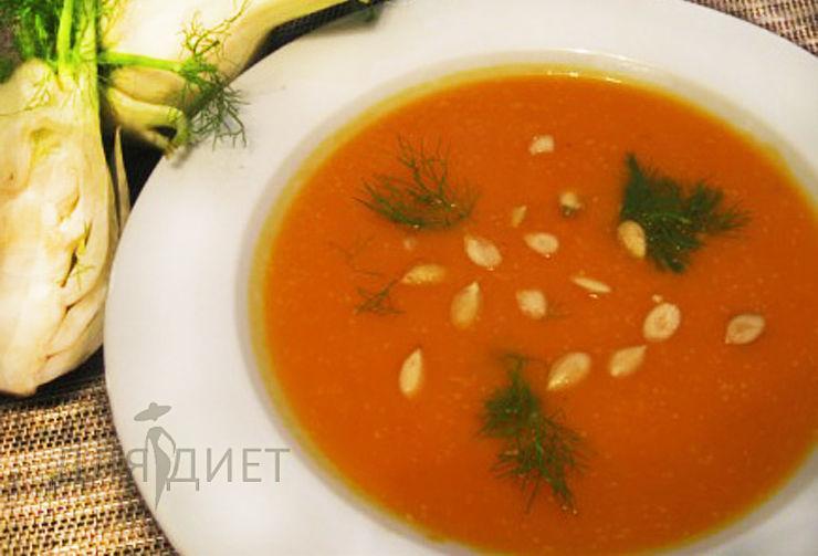 Как приготовить диетический суп-пюре из тыквы
