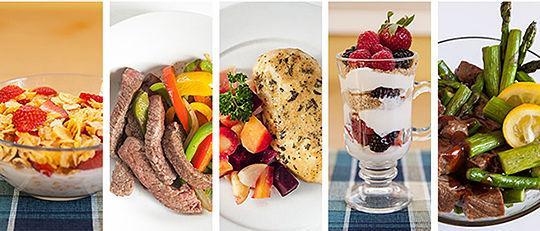режим правильного питания для похудения меню