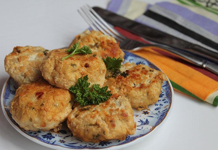 рецепт диетических куриных котлет с капустой