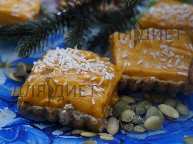 Рецепт диетического десерта из тыквы