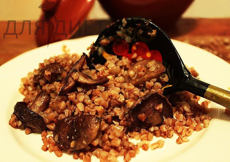 рецепты гречка с грибами в духовке