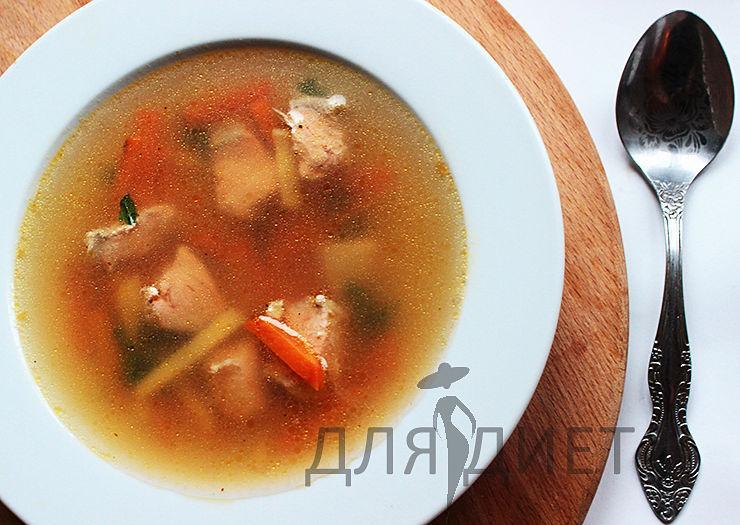 Рецепт рыбного супа из лосося или другой красной рыбы