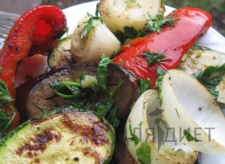 Маринад для овощей на гриле и мангале