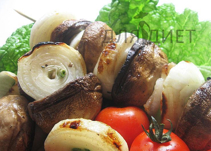 Рецепт маринада для шашлыка из шампиньонов на мангале