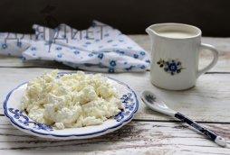 Домашний творог из кислого молока или простокваши