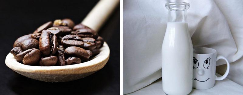 Кофе и молоко
