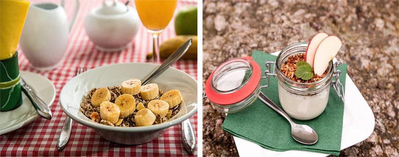 Приготовление полезных завтраков