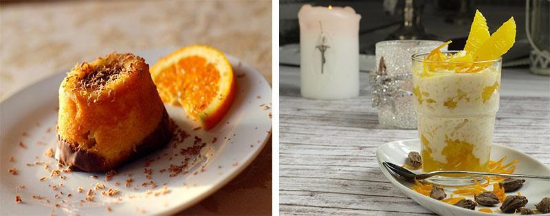 Десерты с апельсином